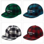 16A/W スポット② Buffalo Plaid Wool Classic Logo 6-Panel